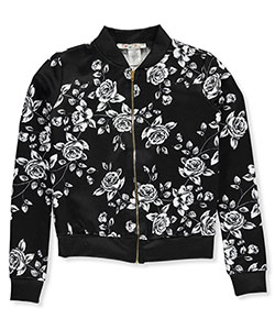 "Boho Girlz Baby Girls' ""Flower Power"" Flight Jacket - CookiesKids.com"