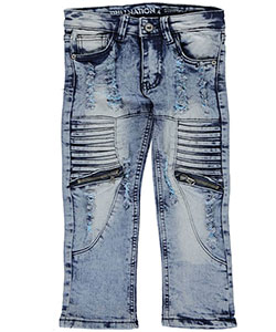 "Trillnation Little Boys' ""Keith"" Jeans (Sizes 4 – 7) - CookiesKids.com"