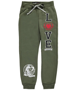 "Simply Pink Little Girls' Toddler ""1978 Love"" Joggers (Sizes 2T – 4T) - CookiesKids.com"