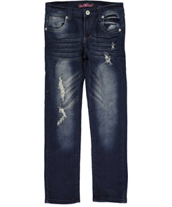 "Lavo Big Girls' ""Double Process"" Jeans (Sizes 7 – 16) - CookiesKids.com"