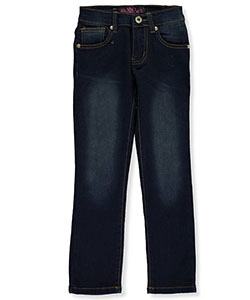 "Lavo Little Girls' ""Vintage"" Stretch Skinny Jeans (Sizes 4 – 6X) - CookiesKids.com"