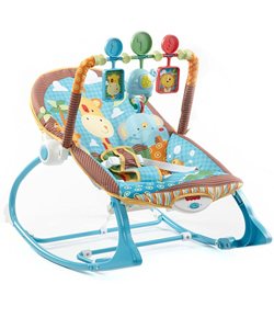 Fisher-Price Infant-to-Toddler Rocker - Jungle Fun - CookiesKids.com
