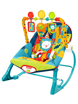 Fisher-Price Infant-to-Toddler Rocker – Animal Adventure - CookiesKids.com
