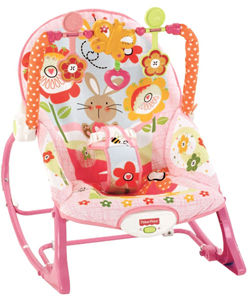 Fisher-Price Infant-to-Toddler Rocker – Bunny Garden - CookiesKids.com