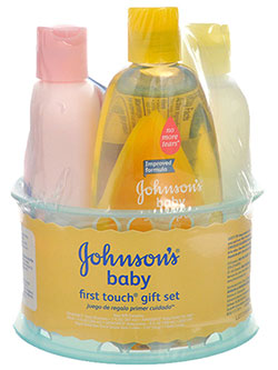 Johnson's First Touch 4-Piece Gift Set - CookiesKids.com