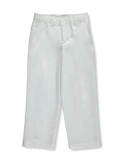"Young Kings Big Boys' ""Grid Linen-Look"" Dress Pants (Sizes 8 – 20) - CookiesKids.com"