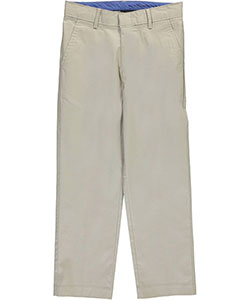 "Izod Big Boys' ""Linen Blend"" Pants (Sizes 8 – 20) - CookiesKids.com"