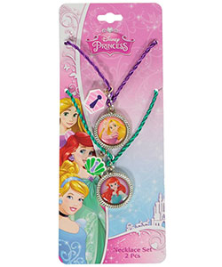 "Disney Princess ""Rapunzel & Ariel"" 2-Pack Necklaces - CookiesKids.com"