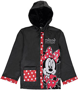 "Minnie Mouse Big Girls' ""All Smiles"" Rain Jacket (Sizes 7 – 16) - CookiesKids.com"
