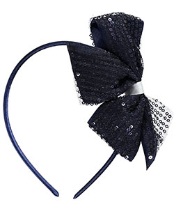 "French Toast ""Sequined Grosgrain"" Headband - CookiesKids.com"