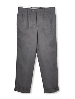 Viero Richi Big Boys' Flat Front Dress Pants (Sizes 8 - 20) - CookiesKids.com