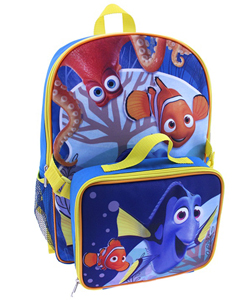 "Finding Nemo ""Ocean Pals"" Backpack with Lunchbox - CookiesKids.com"