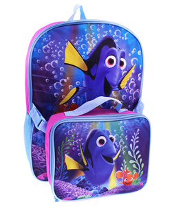 "Finding Nemo ""Just Keep Swimming"" Backpack with Lunchbox - CookiesKids.com"