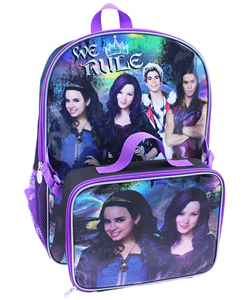 "Disney Descendants ""We Rule"" Backpack with Lunchbox - CookiesKids.com"