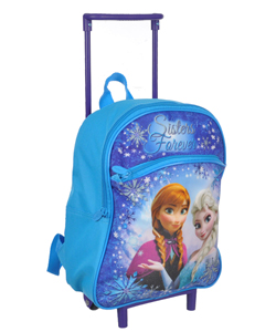 "Disney Frozen ""Sisters Forever"" Mini Rolling Backpack - CookiesKids.com"