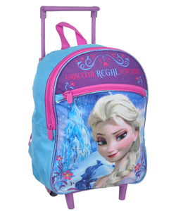 "Disney Frozen ""Graceful Elsa"" Mini Rolling Backpack - CookiesKids.com"