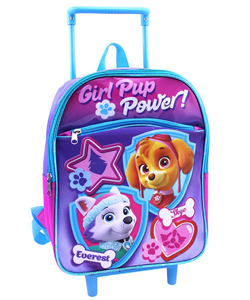 "Paw Patrol ""Everest & Skye"" Mini Rolling Backpack - CookiesKids.com"