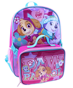 "Paw Patrol ""Best Pup Pals"" Backpack with Lunchbox - CookiesKids.com"