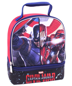 "Captain America ""Civil War"" Insulated Lunchbox - CookiesKids.com"