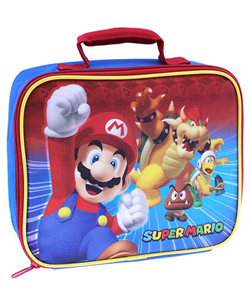 "Super Mario Brothers ""Mario and Friends"" Insulated Lunchbox - CookiesKids.com"