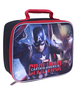 "Captain America ""Captain of Heroes"" Insulated Lunchbox - CookiesKids.com"