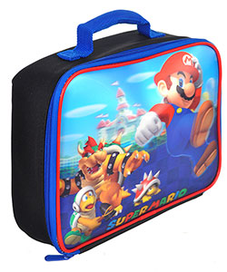 "Super Mario ""3D Jump"" Insulated Lunchbox - CookiesKids.com"