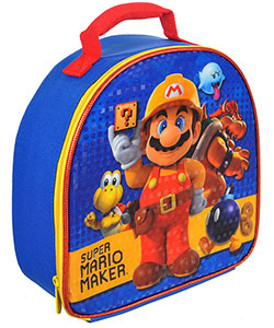 "Super Mario ""Super Mario Maker"" Insulated Lunchbox - CookiesKids.com"