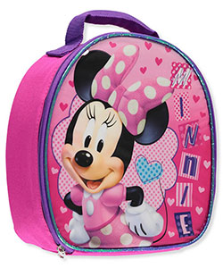 "Minnie Mouse ""Heart Bubble"" Insulated Lunchbox - CookiesKids.com"