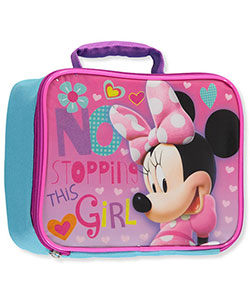 "Minnie Mouse ""No Stopping This Girl"" Insulated Lunchbox - CookiesKids.com"