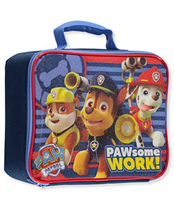 "Paw Patrol ""Pawesome Work!"" Insulated Lunchbox - CookiesKids.com"