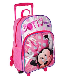Minnie Mouse Rolling Backpack - CookiesKids.com