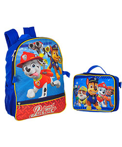 Paw Patrol Backpack with Insulated Lunchbox - CookiesKids.com