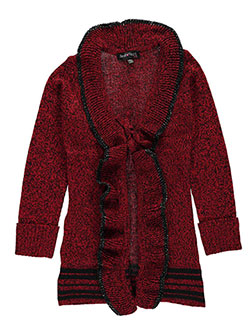 "Derek Heart Big Girls' ""With a Z"" Cardigan (Sizes 7 – 16) - CookiesKids.com"