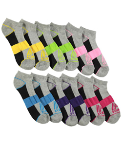 "RBX ""Borderline"" 4-Pack Low Cut Socks (Sizes 4 – 11) - CookiesKids.com"