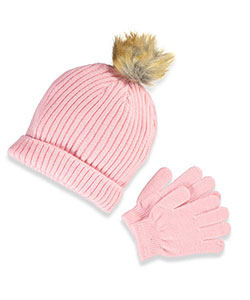 Chatties Girls' Beanie & Gloves Set (Youth One Size) - CookiesKids.com