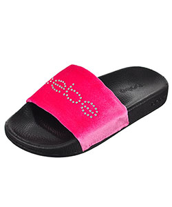 Bebe Girls' Slide Sandals (Toddler Sizes 11 – 12) - CookiesKids.com