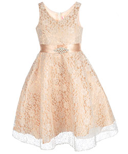 "Good Girl Big Girls' ""Blossom Lace"" Dress (Sizes 7 – 16) - CookiesKids.com"