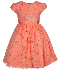 "Good Girl Little Girls' ""Fantasy"" Dress (Sizes 4 – 6X) - CookiesKids.com"