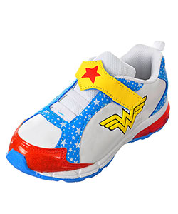 Wonder Woman Girls' Sneakers (Toddler Sizes 8 – 12) - CookiesKids.com