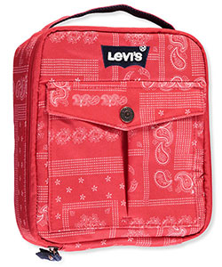 "Levi's ""Printed Paisley"" Insulated Lunchbox - CookiesKids.com"