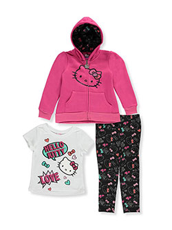 Hello Kitty Little Girls' 3-Piece Outfit (Sizes 4 – 6X) - CookiesKids.com