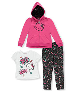Hello Kitty Big Girls' 3-Piece Outfit (Sizes 7 – 16) - CookiesKids.com