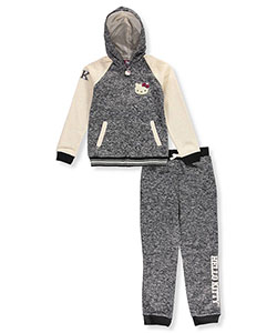 Hello Kitty Big Girls' 2-Piece Knit Sweatsuit (Sizes 7 – 16) - CookiesKids.com