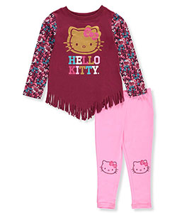 Hello Kitty Little Girls' Toddler 2-Piece Outfit (Sizes 2T – 4T) - CookiesKids.com