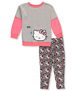 Hello Kitty Little Girls' 2-Piece Outfit (Sizes 4 – 6X) - CookiesKids.com