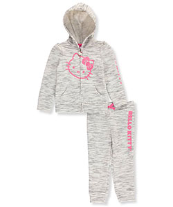 Hello Kitty Big Girls' 2-Piece Fleece Sweatsuit (Sizes 7 – 16) - CookiesKids.com