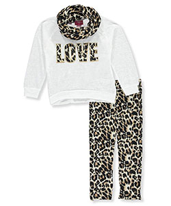"Girls Luv Pink Big Girls' ""Infinite Love"" 2-Piece Outfit (Sizes 7 – 16) - CookiesKids.com"