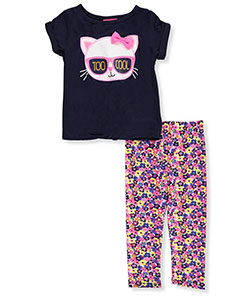 Girls Luv Pink Little Girls' Toddler 2-Piece Outfit (Sizes 2T – 4T) - CookiesKids.com