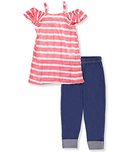 Girls Luv Pink Big Girls' 2-Piece Outfit (Sizes 7 – 16) - CookiesKids.com