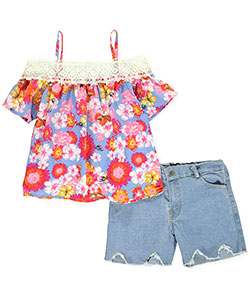 Girls Luv Pink Girls' 2-Piece Outfit - CookiesKids.com